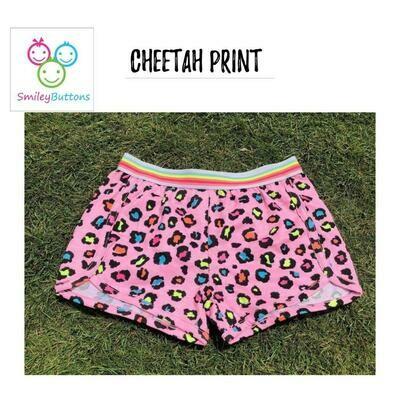 Shorts Chettah AOP