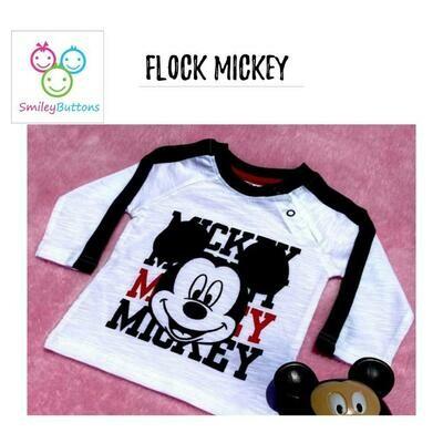 T-Shirt Flock Mickey