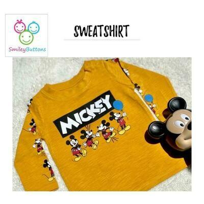 T-Shirt Yellow Mickey