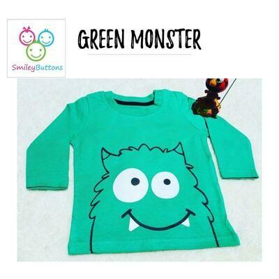 T-Shirt Green Monster