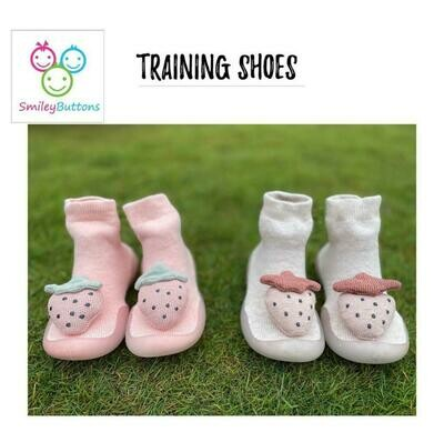 Training Shoes Pink & Grey Berry