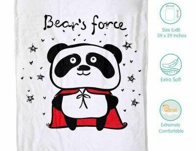 Fur Blanket Bear