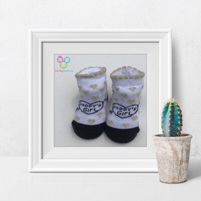 Baby Socks Daddy's Girl