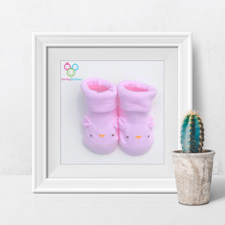Baby Socks Pink Ear