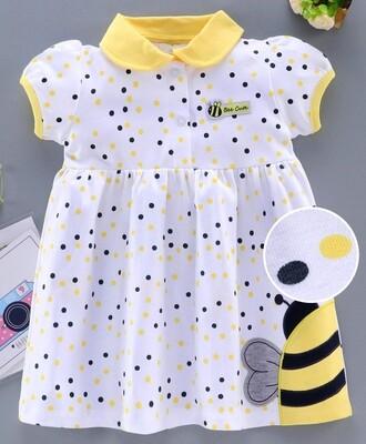 Yellow Bee Frock