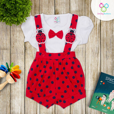 Dungaree Red Bee