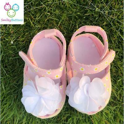 Shoe Pink Flower