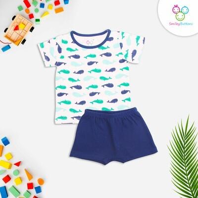 T-Shirt & Shorts Shark