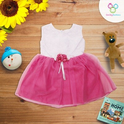 Pink Bow Frock