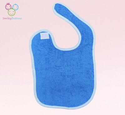 Velcro Terry Bib Blue