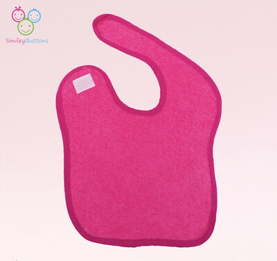 Velcro Terry Bib Pink