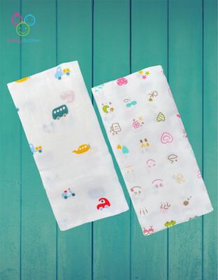Organic Muslin Towel Combo Transport & Mind Glow