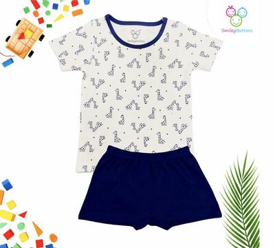 T-Shirt & Shorts Giraffe Aop