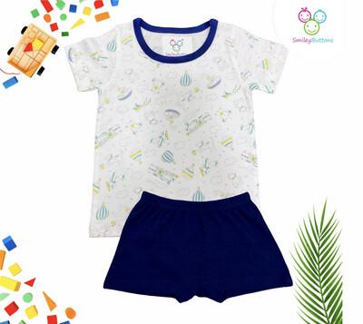 T-Shirt & Shorts Parachute Aop