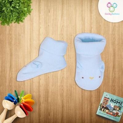 Baby Socks Blue Ears