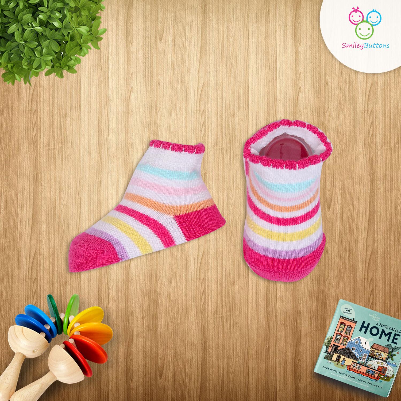 Baby Socks Multicolor Stripes