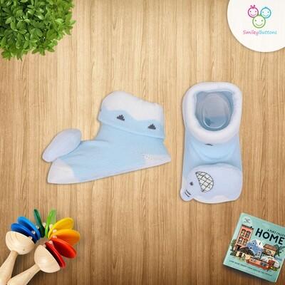 Baby Socks Blue Elephant