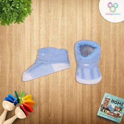 Baby Socks Blue Bear