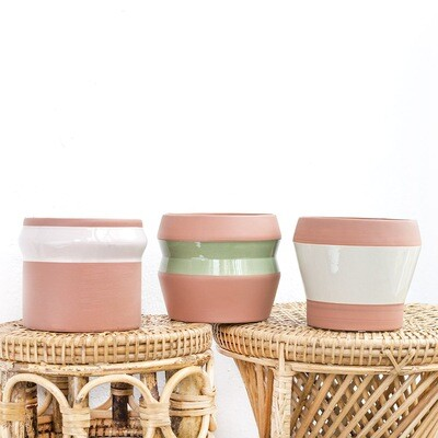 3pc Nude Pot Collection