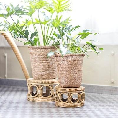 Woven Basket Cover Pots - 2 sizes!