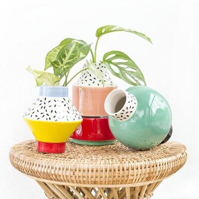 Colour Pop Vases - 3 Colours!
