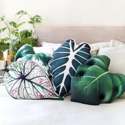 Leaf Shaped Cushions
