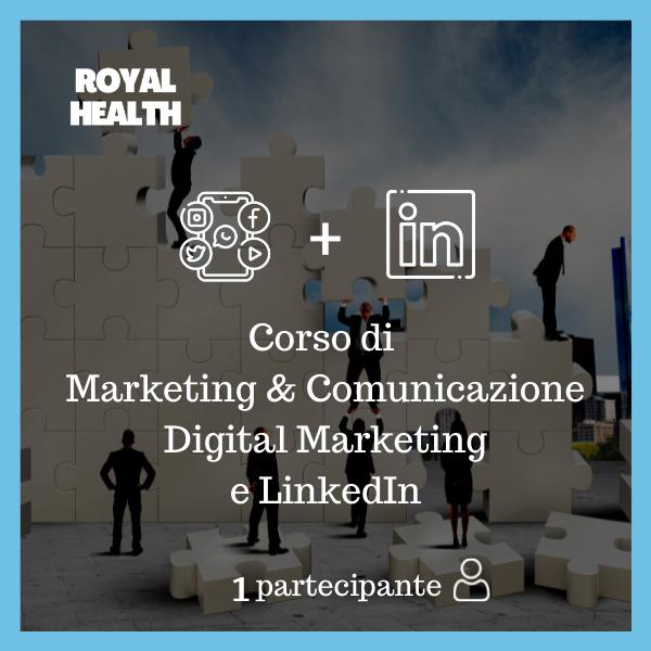 Royal Health Modulo 1,2 + 3 Partecipante 1