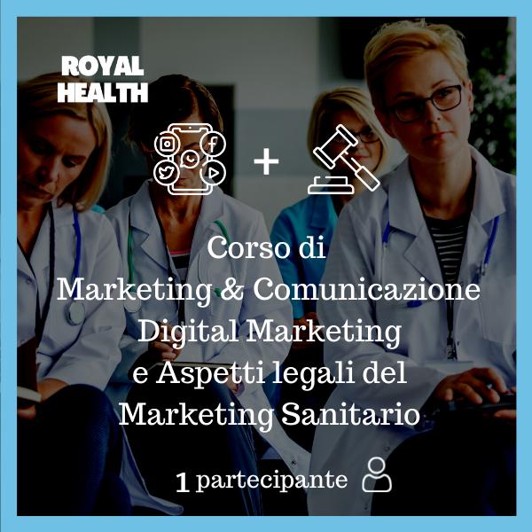 Royal Health Modulo 1,2 + 4 Partecipante 1