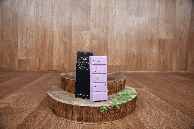 Purple Orchid Wax Snap Bar Wax Melt