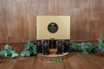 Luxury Gift Set with Mini Warmer + 4 Snap Bar Wax Melts