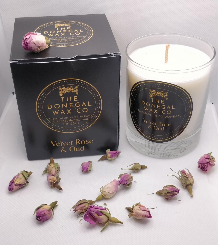 Velvet Rose & Oud Luxury Soy Candle