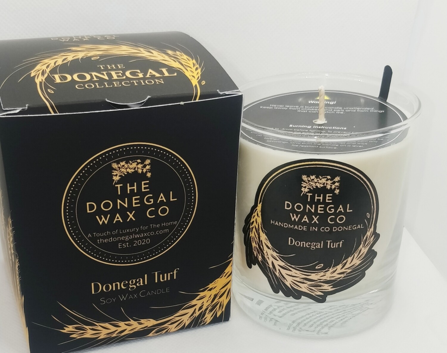 Donegal Turf  Luxury Soy Candle
