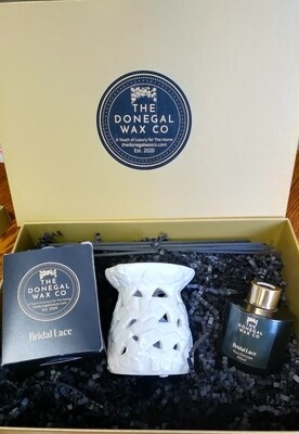 Wedding Day Donegal Wax Gift Set