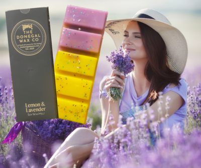 Lemon & Lavender Snap Bar Wax Melt