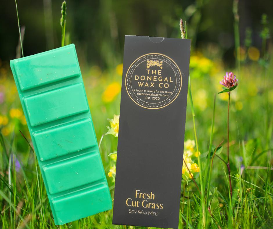Fresh Cut Grass Snap Bar Wax Melt