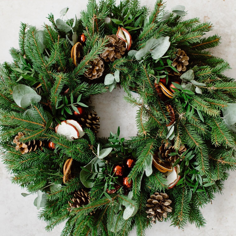 Luxury ChristmasWreath Making Kit