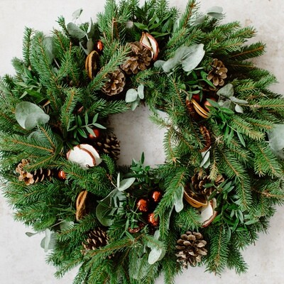 Luxury Christmas Wreath Making Kit