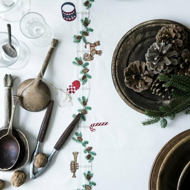 Juledug med klassiske julemotiver