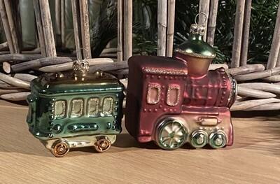 Julelokomotivet med togvogn