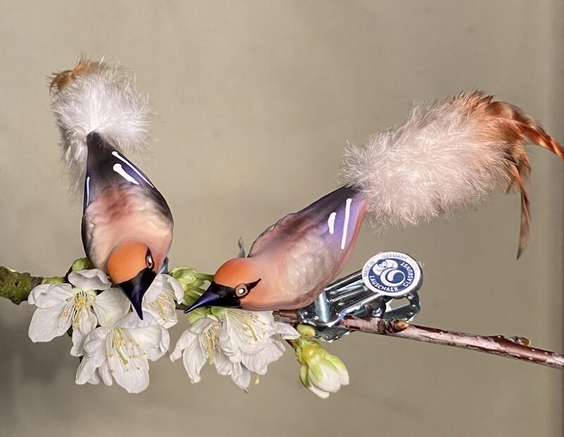 3 stk. Bland-selv, Minifugle - Natur