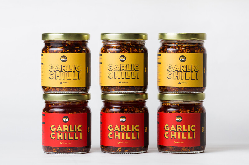 [Family Pack] Garlic Chilli - The Hot Or Not
