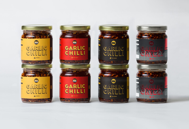 [Family Pack] Garlic Chilli - The Fantastic Four