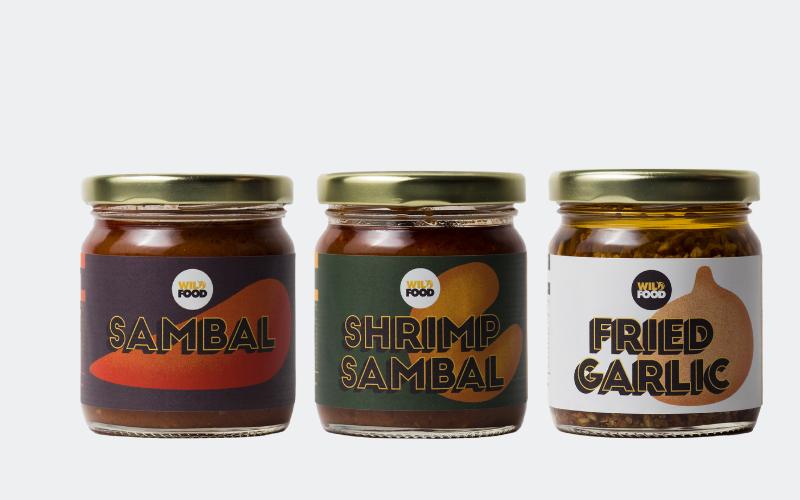 Mixed Triple Pack - Sambals & Fried Garlic