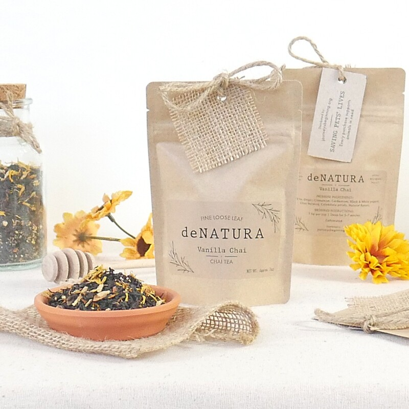 Vanilla Chai - Craft Pouch