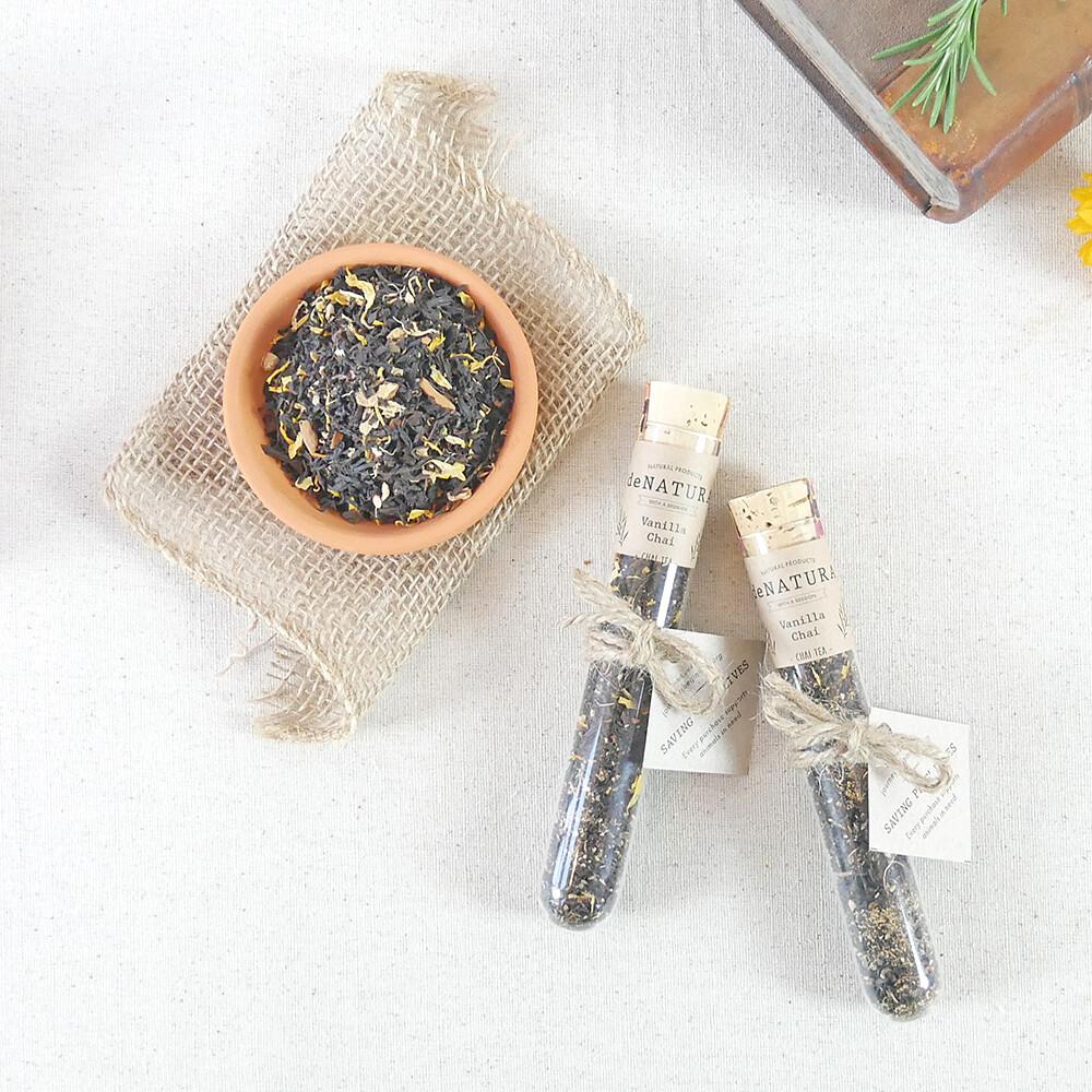 Vanilla Chai - Single Glass Tube