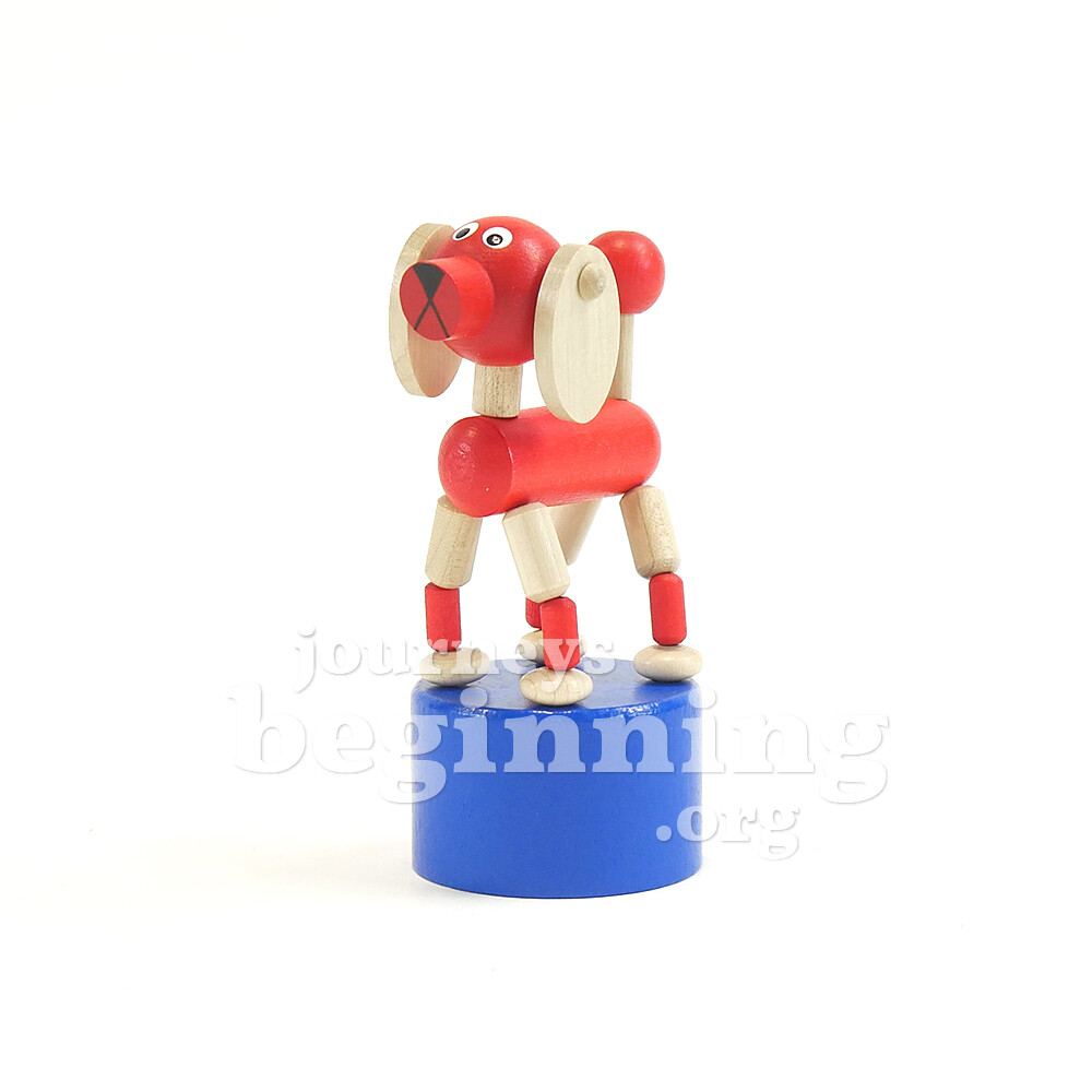 Dancing Dog Press Puppet