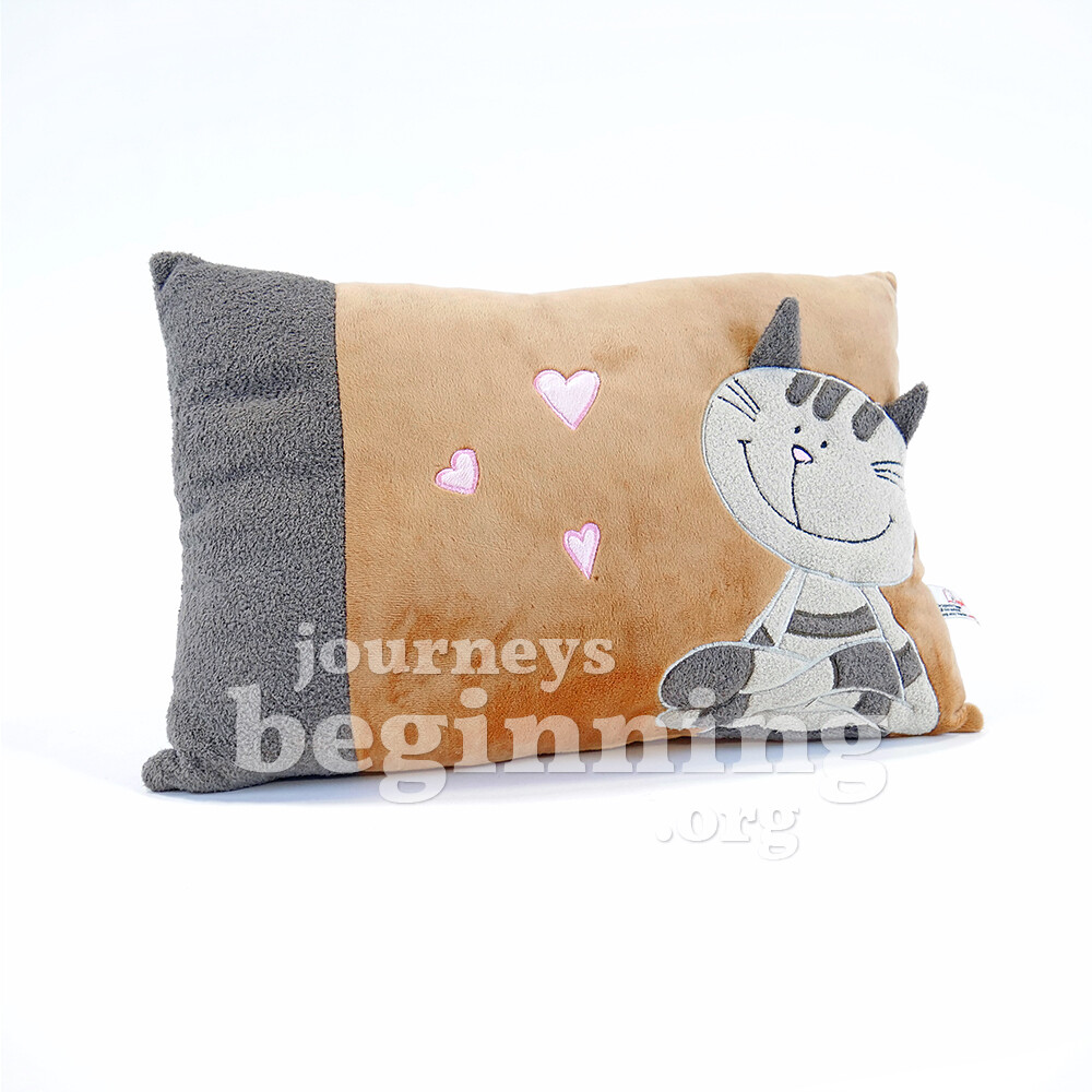 Kitty the Cute Cat Throw Pillow