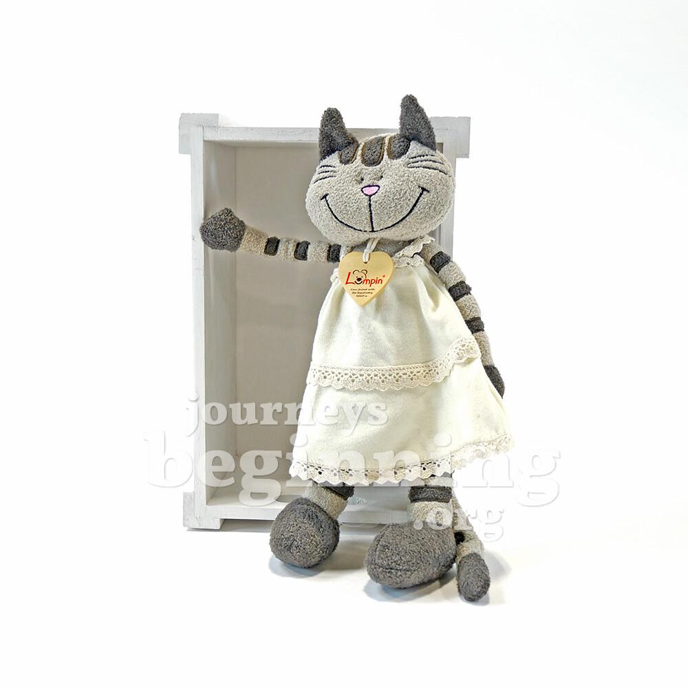 Pippa the Cute Cat in a Dress