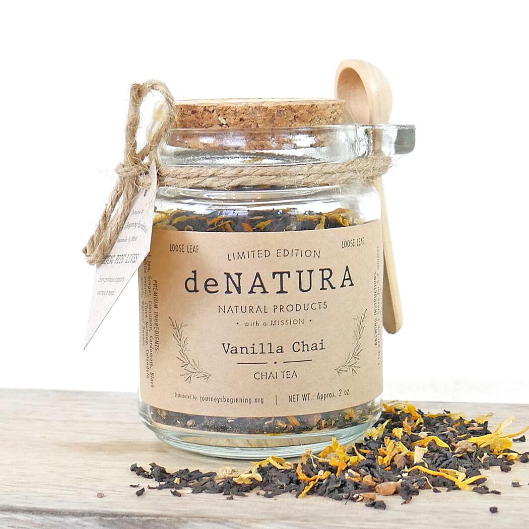 Vanilla Chai - Glass Jar