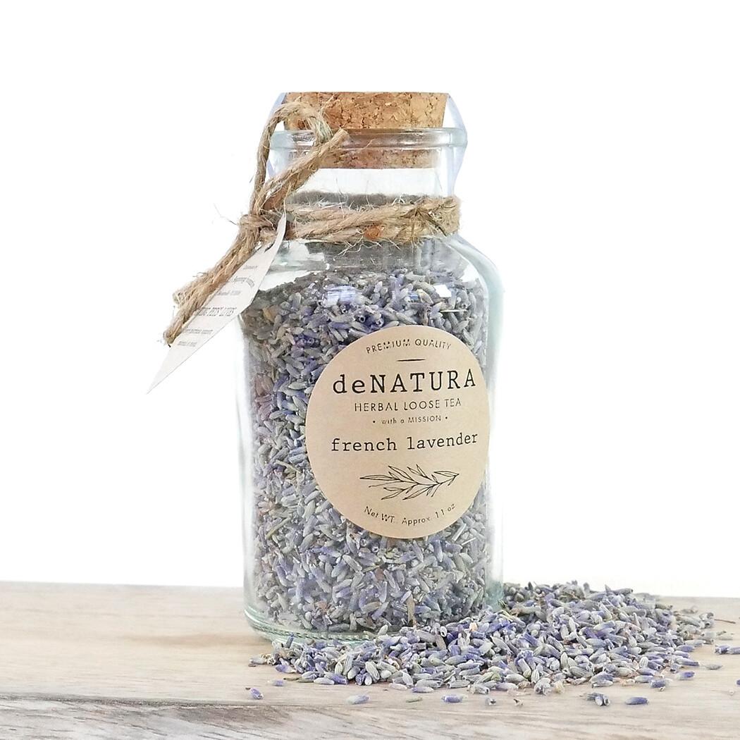French Lavender - Herbal Tisane - Glass Jar